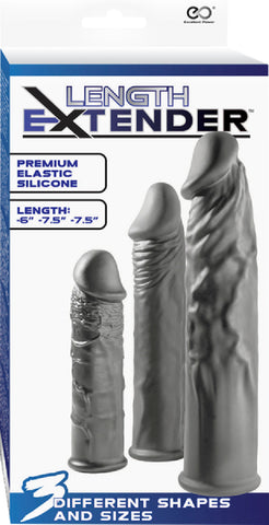 Length Extender (Grey) Sex Toy Adult Pleasure