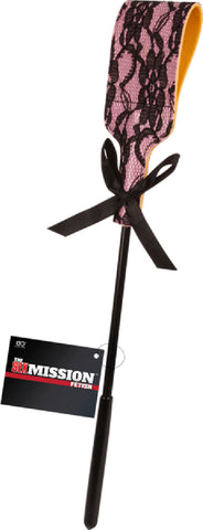 Lace Paddle Whip (Pink)