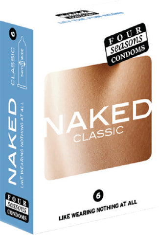 Naked 6's Pleasure Adult Condom Safe Sex