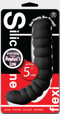 Silicone Flexi (Black) Sex Adult Pleasure Orgasm