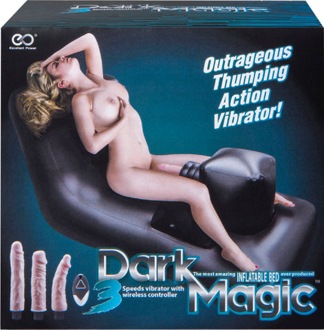 Dark Magic Inflatable Bed Sex Toy Adult Pleasure