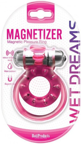 Magnetizer Cock Ring (Pink)