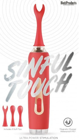 Sinful Touch Vibrator (Red)
