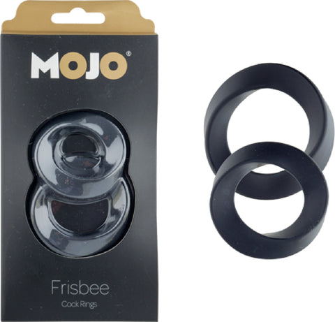 Frisbee Cockrings (Black)