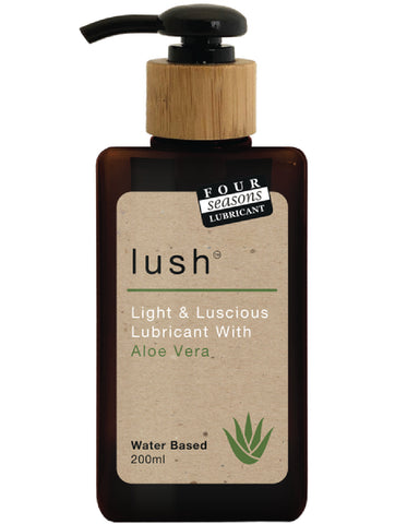 Lush Aloe Vera Lubricant 200ml Sex Toy Adult Pleasure