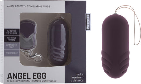 Angel Egg Sex Toy Adult Pleasure (Lavender)
