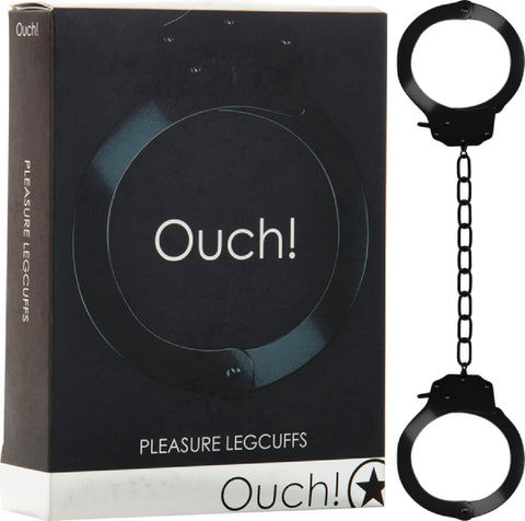 Pleasure Legcuffs (Black) Sex Toy Adult Pleasure Orgasm Bondage