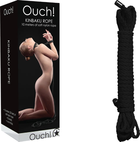 Kinbaku Rope - 10m (Black) Sex Toy Adult Pleasure