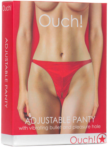 Adjustable Panty (Red) Sex Toy Adult Pleasure