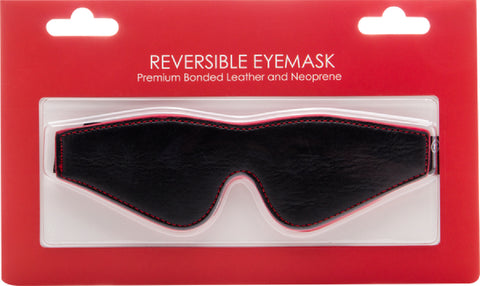 Reversible Eyemask (Red) Bondage Sex Adult Pleasure Orgasm