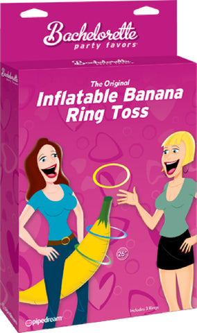 The Original Inflateable Banana Ring Toss Sex Toy Adult Orgasm