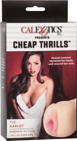 Cheap Thrills - The Harlot (Flesh) Sex Toy Adult Pleasure
