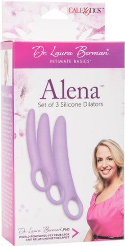 Dr. Laura Berman® Alena™ Set of 3 Silicone Dilators Sex Toy Adult Pleasure
