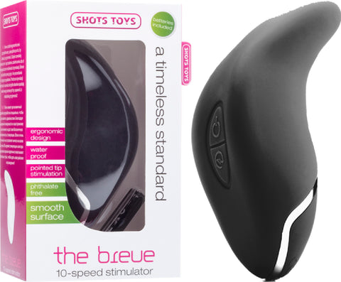 The Breve (Black) Vibrator Sex Adult Pleasure Orgasm