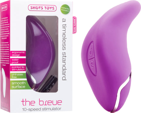 The Breve (Purple) Vibrator Sex Adult Pleasure Orgasm