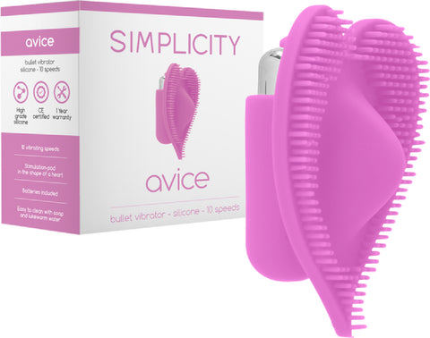 AVICE Bullet Vibrator (Pink) Sex Toy Adult Pleasure