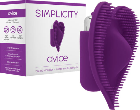 AVICE Bullet Vibrator (Purple) Sex Toy Adult Pleasure