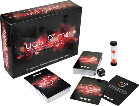You & Me Fun Board Game Cards with Lover or Friends