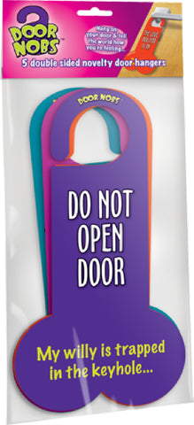 Door Nobs Fun door knob Hangers Do Not Disturb