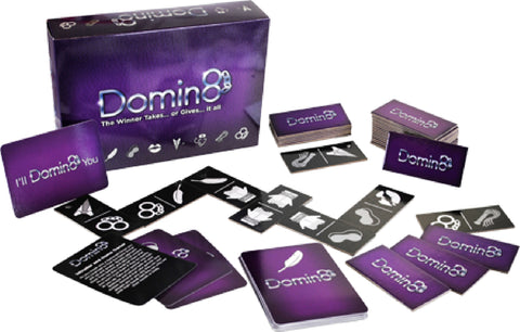 Domin8 Fun Board Game For Friends Or Lovers