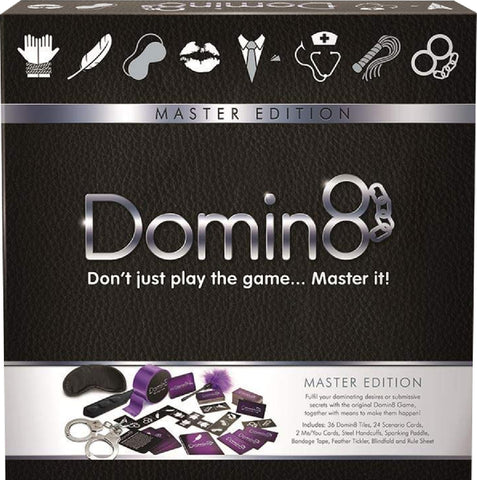Domin8 (Master Edition) Fun Board Game For Friends Or Lovers