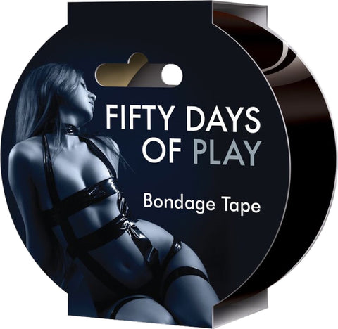 Fifty Days Of Play – Bondage Tape Fun Board Game For Friends Or Lovers