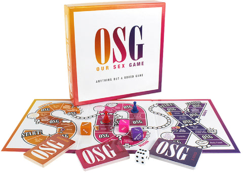 Our Sex Game Fun Board Game For Friends Or Lovers
