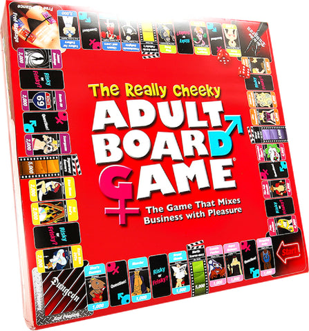 The Really Cheeky Adult Fun Board Game For Friends Or Lovers
