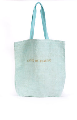 SAY NO TO PLASTIC - TOTE