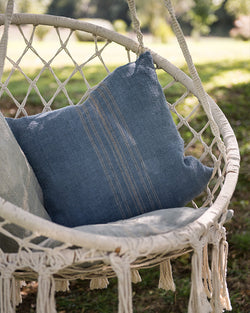 Provence Hand-painted Pillow