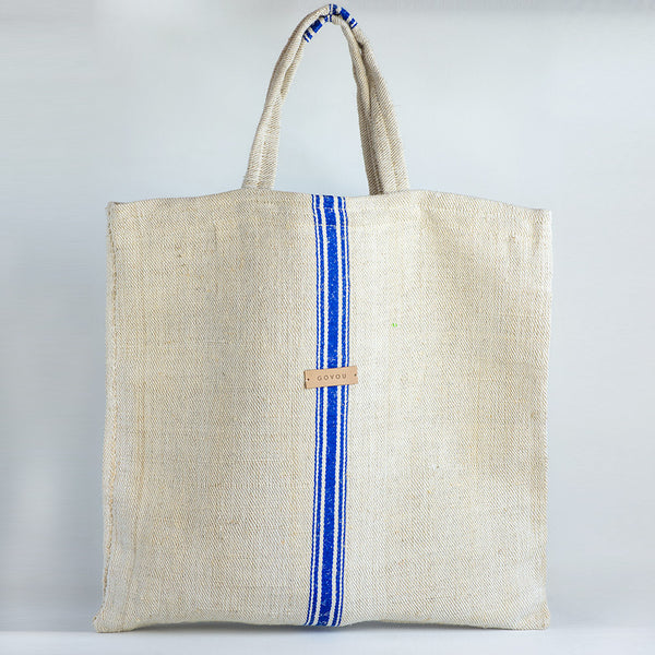 Basic Shopper Bag, linen, hemp