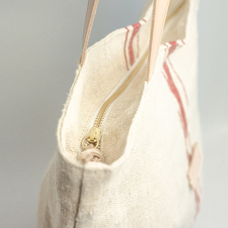 Basic Tote Bag, linen, hemp