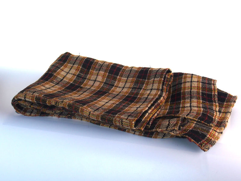 Brown  Vintage Wool Throw