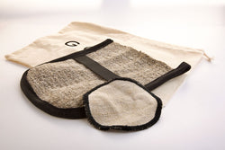 Natural Exfoliating Glove & Pad