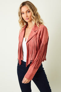 Gypsy Rose Fringe Jacket