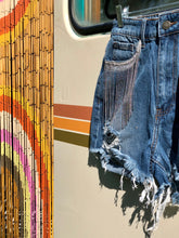 Chain Fringe Denim