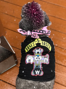 Dog band tee Dog tee shirt