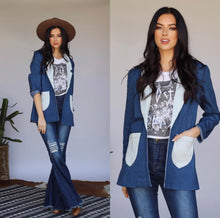 Rumors Denim Blazer