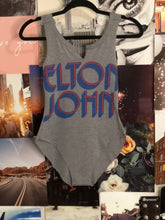 This Elton John bodysuit was made exclusively for Rock-n-Boho by Stranger Ranger.  Full back and raw edges.