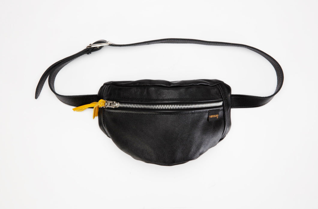 LEATHER WAIST PACK