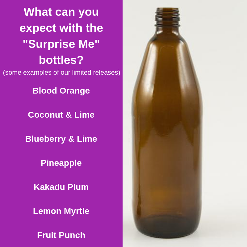 """Surprise Me"" Kombucha 750ml Bottle"