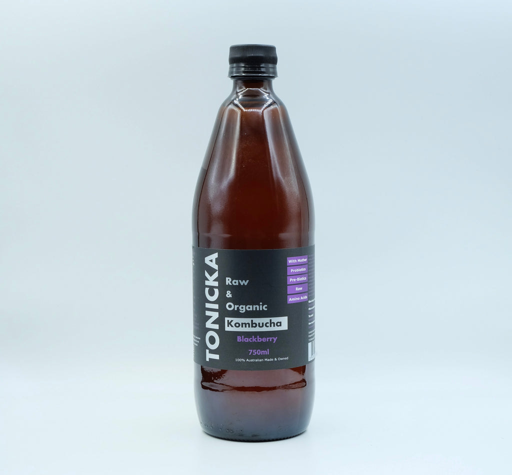 Blackberry Kombucha (750mL Bottle)