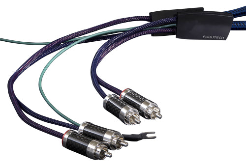 FURUTECH AG-16 SILVER-PLATED (ALPHA) OCC PHONO CABLE (L-DIN-RCA) - Revolution Audio