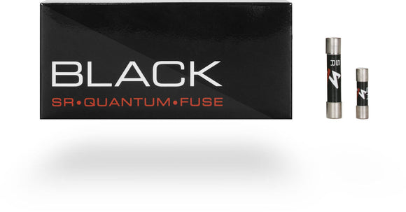 SYNERGISTIC RESEARCH BLACK FUSES 6.3x32mm Large SLOW BLOW - Revolution Audio