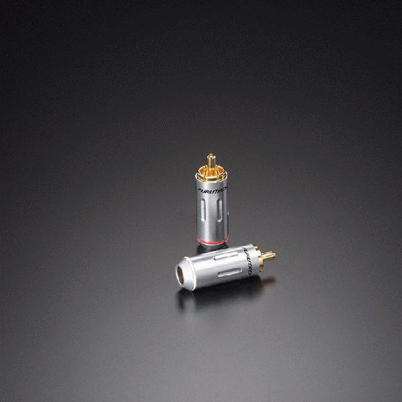 FURUTECH FP-162(G)-SET OF 4 EA- EUTECTIC BRASS PIN RCA - Revolution Audio