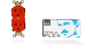 SYNERGISTIC RESEARCH TESLA PLEX SE DUPLEX RECEPTACLE OUTLET - Revolution Audio