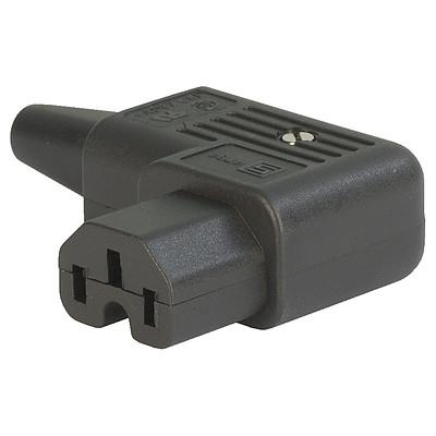 SCHURTER 4784 RIGHT ANGLE IEC PLUG - Revolution Audio