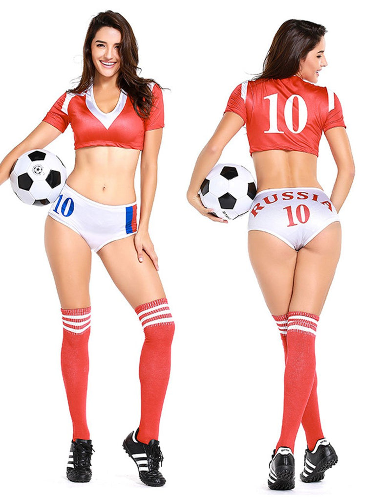 ... Orgshine 2018 Russian World Cup Cheerleading Cheerleaders Costume Football Baby Hot Clothes Set ...  sc 1 st  Orgshine & Orgshine 2018 Russian World Cup Cheerleading Cheerleaders Costume Foot