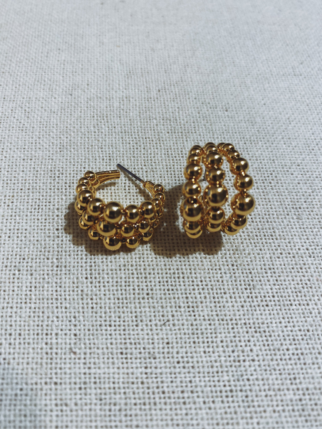 Marge Gold Ball Earring