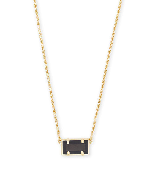 Pattie Necklace Gold Black